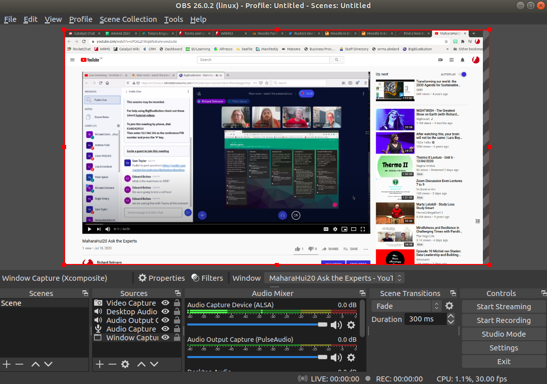 OBS Studio streaming