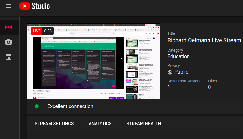 YouTube Create Streaming Studio