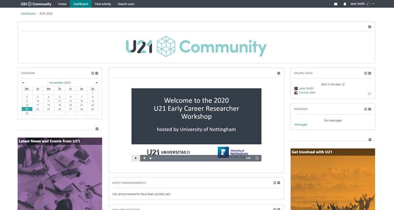 Universitas 21 screen shot