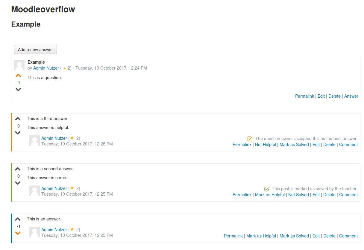 Moodle overflow example screenshot